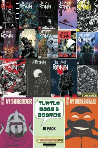 Teenage Mutant Ninja Turtles LAST RONIN #1-5 Printing Variant TURTLE Boards NOW
