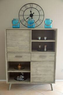 Furniture Seattle Grey Stain Solid Wood