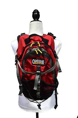 CamelBak HAWG 100 oz 3L Hydration Backpack (No bladder) - Red MTB Road Hiking