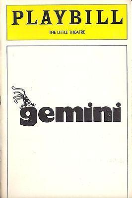 1979 Playbill Gemini Kathleen Turner Broadway Debut!