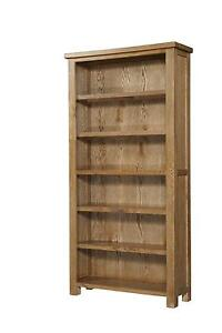 Large Solid Oak Bookcases