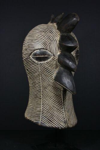 African KIFWEBE Bird Beak Mask - SONGYE tribe - D.R Congo, TRIBAL ART CRAFTS