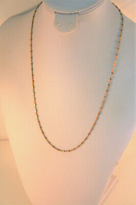 Giani Bernini 18K gold over sterling silver nugget chain necklace