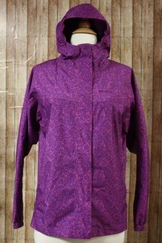 Marmot Summer Storm Waterproof Jacket Girls XL Purple Swirl Style 56750