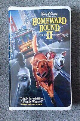 Walt Disney Homeward Bound II Lost in San Francisco VHS Rated G (Homeward Bound Ii Lost In San Francisco)