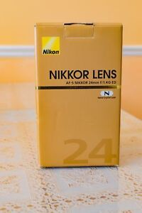 Nikon 24mm 1.4 very good condition