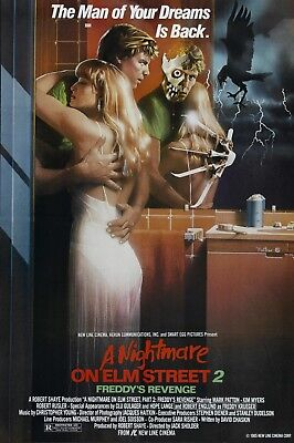 A Nightmare On Elm Street Part 2 Poster in A0-A1-A2-A3-A4-A5-A6-MAXI