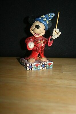 """Jim Shore Mickey Mouse """"Touch of Magic """" figure"""