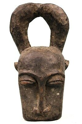 Art African - Antique Mask Pasport Bo Nun Amuin Amwen Baoulé Ball - 16 CMS