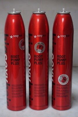 3 PACK. 10 oz. Big Sexy Hair Root Pump Plus Volumizing Spray Mousse. 284ml. READ