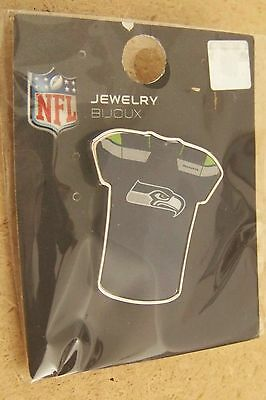 Seattle Seahawks jersey lapel hat pin NFL ()