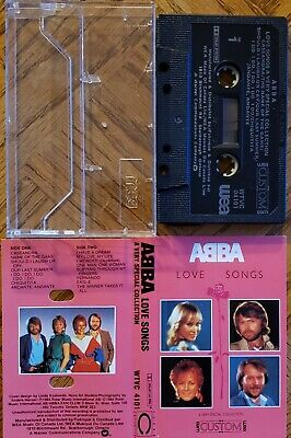 ABBA - Love Songs A Very Special Collection RARE - Cassette Free Ship In Canada