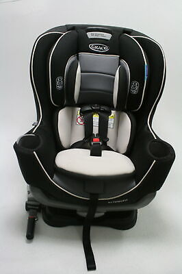Graco 1963212 Extend2Fit Gotham Black Convertible Rear Facing Baby Car Seat
