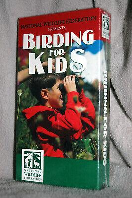 Bird Movie For Kids (National Wildlife Federation Birding for Kids VHS video)
