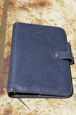 Day Runner Concorde Planner Navy W Snap 6 Ring 7.5 X 6.5 X 1.5 Organizer Small