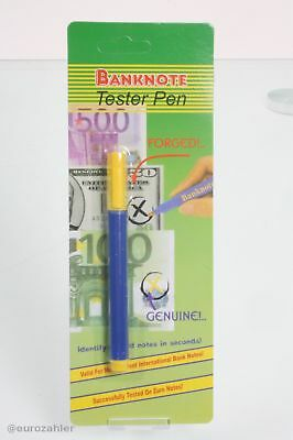 10 Stück Euro Banknoten Tester Gefälschte Banknoten Detektor Geld Prüfung