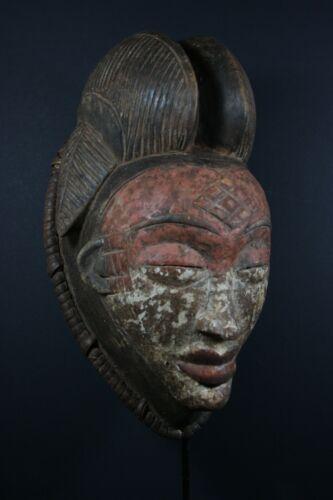 African Okuyi face mask - PUNU - Gabon, TRIBAL ART, AFRICAN ART