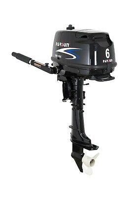 NEW Parsun 6hp 4 Stroke Outboard Manual, Tiller Handle, ShortShaft F6ABMS Engine