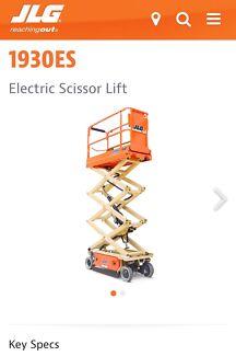 JLG 1930ES Scissor lift EWP