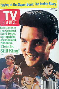 TV-GUIDE-January-1989-Elvis-Presley-is-STILL-THE-KING-Rock-n-Roll-Sitcoms-VG