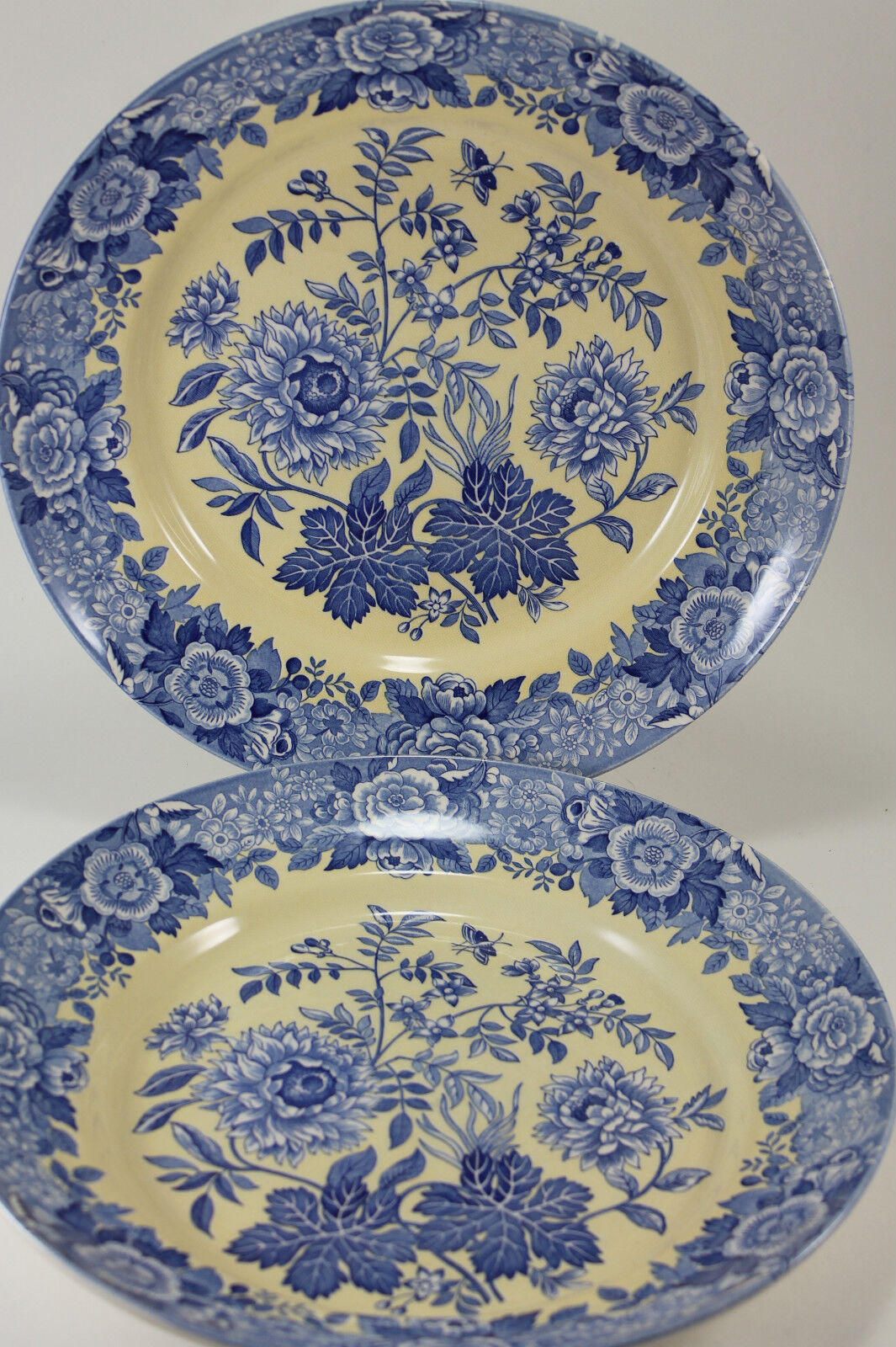 Spode Blue Room Collection Floral Plate
