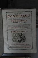 1768 - Vincentii Contenson Theologia Mentis Et Cordis - vince - ebay.it