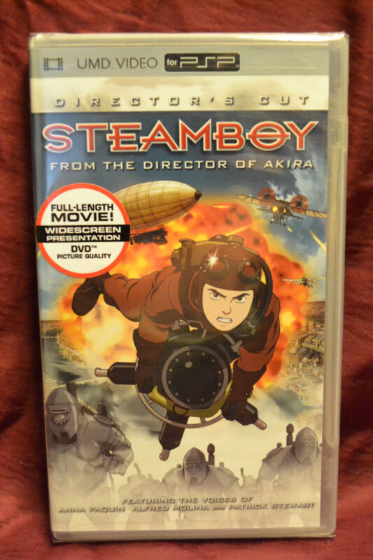 Steamboy UMD for PSP Director's Cut NEW SEALED