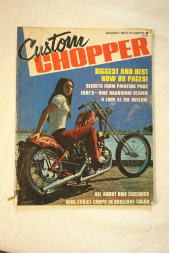 Vintage 1972 Custom Chopper Magazine
