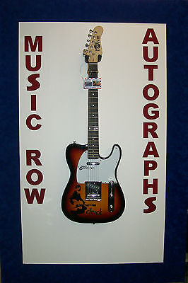 CHUCK BERRY Signed Autograph Electric Guitar JSA LOA Johnny B Good