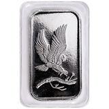 SilverTowne Mint Eagle Design 1 Troy oz. .999 Fine Silver Bar SKU48242