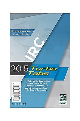 2015 International Residential Code Turbo Tabs for Paper Bound ... Free Shipping