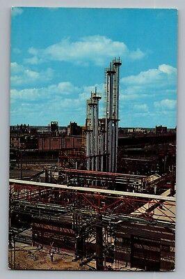 Midland Michigan Mi Dow Chemical Company Plant Vintage Postcard 1950S