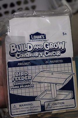 NEW Lowe's Build and Grow: Bird Feeder