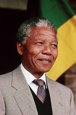 (NELSON MANDELA 8X10 GLOSSY PHOTO PICTURE IMAGE #2)