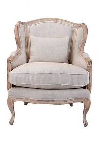 French Country Highback Armchair - Decor My Villa Berwick Casey Area Preview