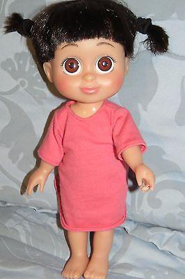 Disney Pixar Monsters Inc 12  Babblin Boo Doll Talking Babbling Singing Giggles