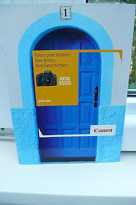 2010 CANON EOS 550D 550 D KAMERA PROSPEKT PHOTOAPPARAT KATALOG CAMERA BROCHURE