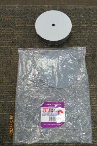 JFJ DISC REPAIR COARSE SANDPAPER W/PAD 1 PACK OF 8PCS NEW