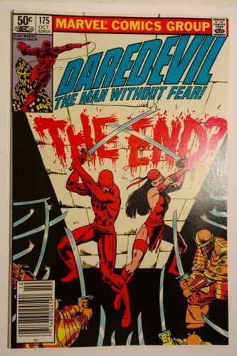 Daredevil 175 / 1981 NM 9.4 Newsstand Frank Miller/Klaus Janson, Elektra Kingpin