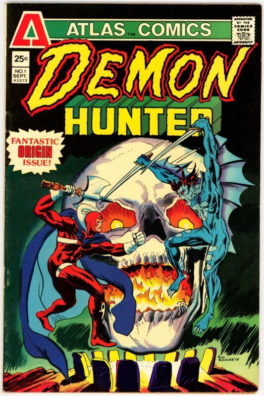 Demon-Hunter (1975) #1 VF- 7.5