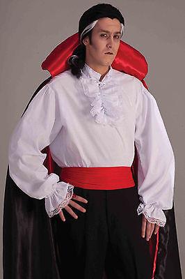 Ruffled White Vampire/Pirate Shirt - Adult](Frilly Pirate Shirt)