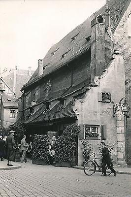 ALLEMAGNE c. 1940 - Restaurant Bratwurst Clocklein à Nuremberg - DIV8376