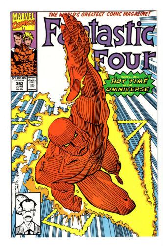 FANTASTIC FOUR #353 1ST MR. MOBIUS (VF+) LOKI DISNEY+ SHOW 1991