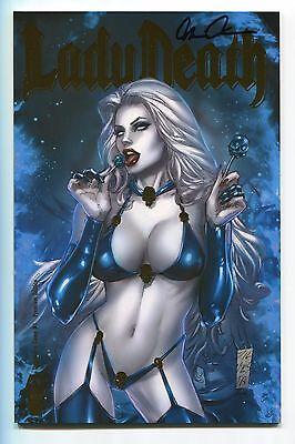 Lady Death Damnation Game #1 Premium Foil Edition Variant Marc Silvestri Cover