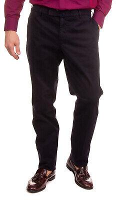 INCOTEX Gabardine Chino Trousers Size 48 / M Stretch Garment Dye Comfort Fit