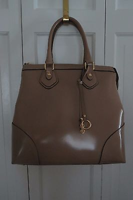 Gorgeous Asia Bellucci Leather Purse/Tote – Taupe – NWT - $260+