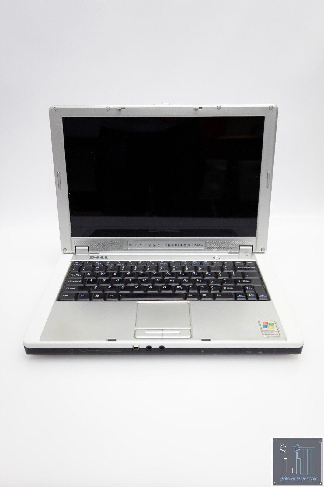 "Dell Inspiron 700m 12.1"" Intel Pentium M Laptop No RAM No HD No Battery AS IS"