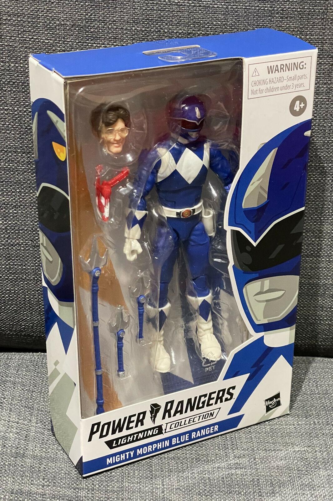 Power Rangers Mighty Morphin Blue Ranger | Lightning Collection, Billy | NEU
