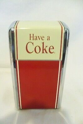 Vintage Look Coca Cola Napkin Dispenser