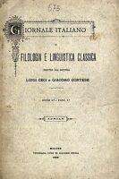 Linguistica Filologia Primo Numero -  - ebay.it